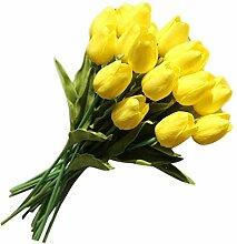 Lystaii 20 Stücke Künstliche Tulpe Blumen