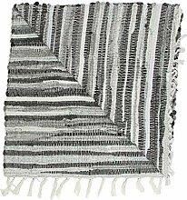 Lystaii Area Rug rutschfeste Teppiche Baumwolle