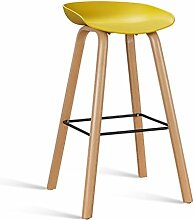 LYTSM Einfache Rezeption Bar Stuhl Bar Hochstuhl