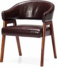 LYTSM Massivholz mit Armlehnen Sessel Stoff