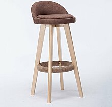 LYTSM Mode massivholz Bar Stuhl Kreative Hochstuhl