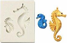 lyward Hippocampus Silikon Backform Fondant Backen
