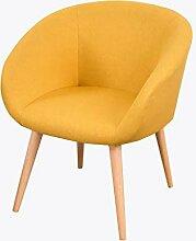 LYXPUZI Massivholz Stuhl Rückenlehne Stuhl