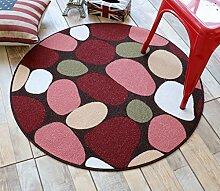 LYYDITAN ZHDC® Amerikanischer runder Teppich,