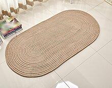 LYYDITAN zhdc® mit Kette oval, Wohnzimmer Couchtisch Nachttisch, Schlafzimmer, maschinenwaschbar, Teppich, weich und bequem, 2, 60*160cm
