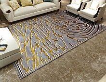 LYYDITAN zhdc® Teppich, modern, der USA Sofa groß, Teppich, in Kunst- und Teppich Wohnzimmer Schlafzimmer Nachttisch mit Couchtisch, waschbar 80x 120cm, weich und bequem #4