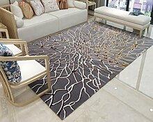 LYYDITAN zhdc® Teppich, modern, der USA Sofa groß, Teppich, in Kunst- und Teppich Wohnzimmer Schlafzimmer Nachttisch mit Couchtisch, waschbar 80x 120cm, weich und bequem #1