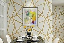 LYYHY Wandtapete Metallic Geometric Für Wände