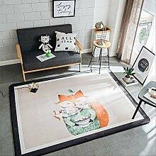 LZBDKM Teppich Fußmatte Für Wohnzimmer Weiche