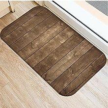 LZHLMCL Badezimmerteppichmatte Fußmatten