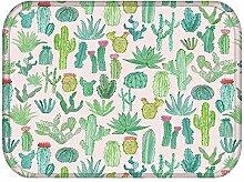LZHLMCL Polyester Türmatte Teppich Fußmatten