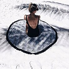 lzn 150cm Runder Strandtuch Yoga Matte Tapestry