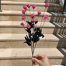lzn 2 x 13 Kopf Künstliche Rosen, Unvergängliche