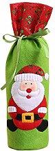 lzn 2 x Weihnachtswein Flaschen Beutel Abdeckung
