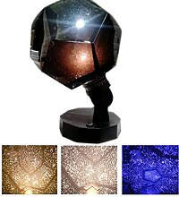 lzn 3 Farben Sternenhimmel Projektor, Romantische