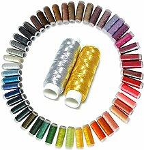 lzn 50 Farben / Set Nähgarn Nähset für die