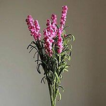 lzn 9 Köpfe Künstliche Lavendel, Unvergängliche