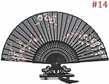 lzn Kirschblüte Handfächer,Bambus