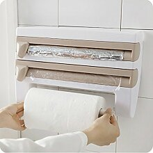 lzn Kunststoff Küchenregale Wandrollenhalter