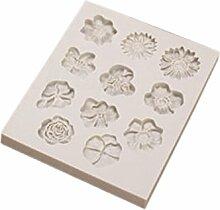lzn Silikon Fondantform Blumen Form DIY Schokolade