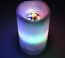 lzndeal Projektionslampe Flammenlose LED Kerze