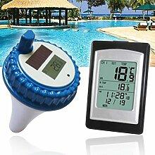 lzndeal Wireless Solar Power Schwimmbecken