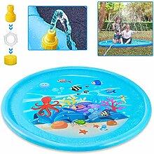 LZQ Splash Pad, Sprinkler Play Matte Sommer Garten