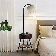 LZQBD Bodenlichter, Regal Stehleuchte Licht Luxus