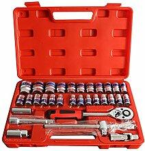LZQMO Werkzeugkoffer Haushalts-Werkzeug-Set mit