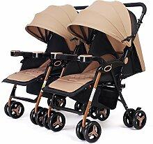 LZTET Kinderwagen Regenschutz Doppel Kinderwagen