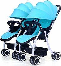 LZTET Universal Waterproof Twins Baby Kinderwagen