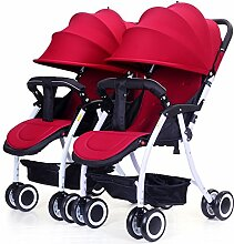LZTET Universal Waterproof Twins Baby Kinderwagen