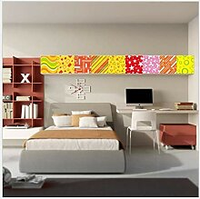 LZY Stick on Wall Tile Kinderzimmer Farbe
