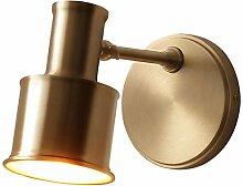 LZY Wandlampe- Einfache Kupfer Single Head