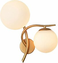 LZY Wandlampe- Wandleuchte Doppelkopf Moderne