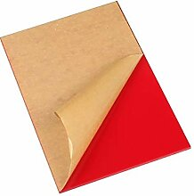 LZYCYF Acrylglas Platte Rot Zuschnitt Für