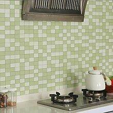 LZYMLG Küche Backsplash Fliesen Pvc Tapete