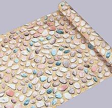 LZYMLGKüche Wasserdichte Tapeten Abnehmbare