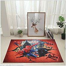 LzZ Kinder-Wohnzimmer-Teppich Cartoon Spider-Man