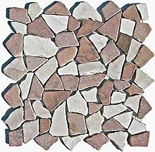 M-004 Marmor Stein-Mosaik Naturstein Bad Fliesen