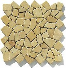 M-012 Marmor Bruchstein Mosaik-Fliesen Wand Boden