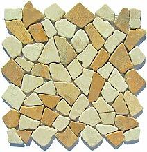 M-013 Marmor Bruchstein Mosaikfliesen Badezimmer