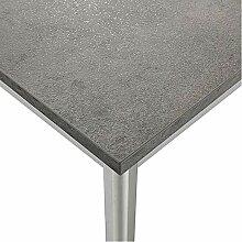 M-029 Esstisch, Design Azura, Grau/Weiß