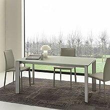 M-029 Esstisch, Glas, ausziehbar, Amos-Design,