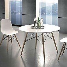 M-029 ULRIK Esstisch, rund, skandinavischer Stil,