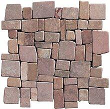 M-1-018 - 1 m² = 11 Fliesen - Marmormosaik