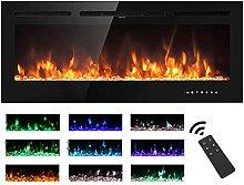 M.C.Haus Elektrischer Kamin, Touchscreen,
