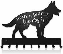 M-KeyCases Schlüsselbrett German Shepherd Hund