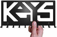 M-KeyCases Schlüsselbrett Keys Wand-Organizer