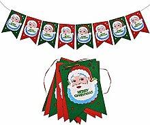 M&OURNM Weihnachtsfeier Banner Cartoon Ornamente